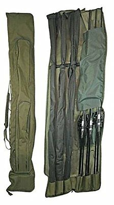 Rod Holdall Bag 3+3 Padded For 12Ft Rods Ngt Carp Fishing Tackle 618