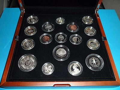 2016 United Kingdom Premium Proof Coin Set - Limited To Only 7,500