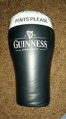 Guinness inflatable pint