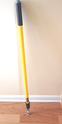 """Rubbermaid Commercial Q755 Quick-Connect Straight Extension Mop Handle 48-72"""""""
