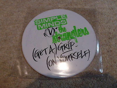 Simple Minds vs The Stranglers Get A Grip Picture Disc Vinyl Limited Edition