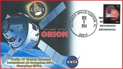 Space Exploration ORION  MPCV First Flight Event Cover -Scarce!