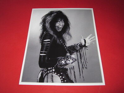 WASP BLACKIE LAWLESS W.A.S.P 10x8 inch lab-printed photo P/8807