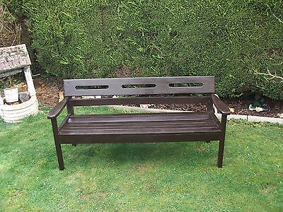 Patio Bench 3 Seater High Quality Hardwood Garden Furniture Outdoor  Seat