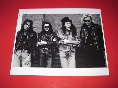 THE SISTERS OF MERCY 10x8  inch lab-printed photo P/8837