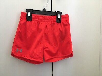 Under Armour Girls UA Training Shorts Sz 6X NEW WITH TAGS