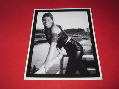 SHANIA TWAIN * LEATHER TROUSERS * 10x8  inch lab-printed photo P/8845
