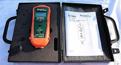 Extech Tach IR RPM10 - Laser Photo/Contact Tachometer W/Thermometer- FREE SHIP!!