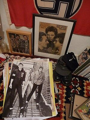 the CLASH 1976 aLLy  POSTErS sEDITIONAries SEX PIStols  1977 punk roCK