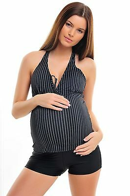 Attractive Womens Maternity Pregnancy Tankinitwo pieces Octopus (1003-f2934) 18