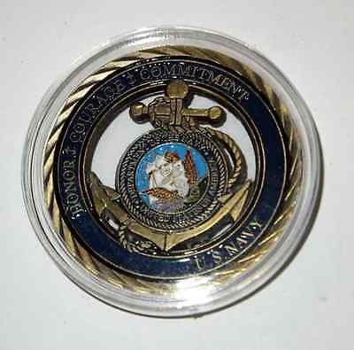 U.S Navy 1oz Gold Coin - Honor Courage and Commitment - U.S. Military