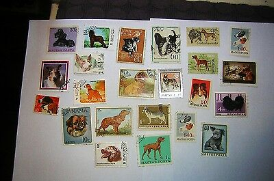stamps dogs