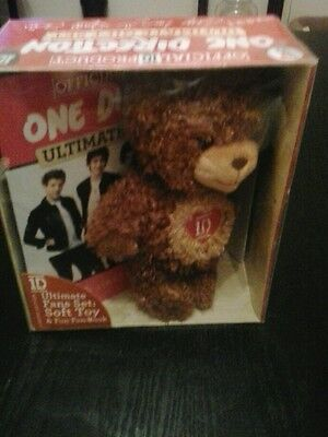 One direction bear in gift box