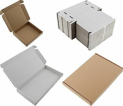 White Or Brown A4 A5 A6 Dvd Dl Mini Kb Boxes Large Letter Cardboard Shipping Pip