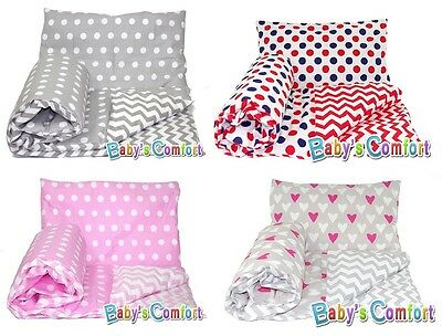 Baby's Comfort REVERSIBLE SINGLE DUVET COVER and PILLOWCASE