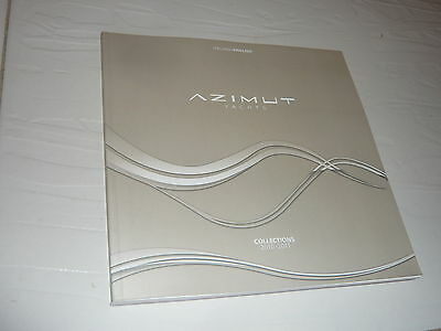 New Azimut Benetti Collections full colour Superyacht Brochure boat yacht '10'11