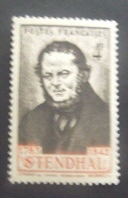 France-1942-4F Stendhal issue-MNH