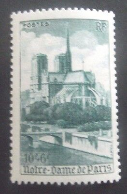 France-1947-Notre Dame 10F + 6F issue-MNH