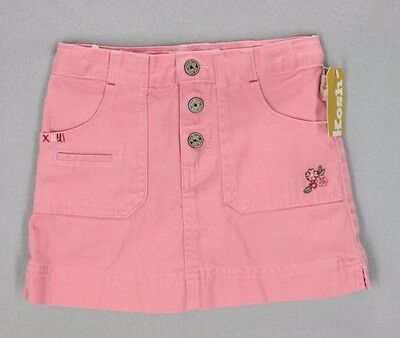Oshkosh Denim Feel Pink Button Front Skort Size 5 NWT #B1431