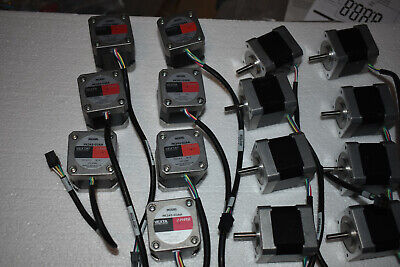 TWO VEXTA 2-PHASE STEPPING MOTORS PK245-03AA Oriental Motor. NEW