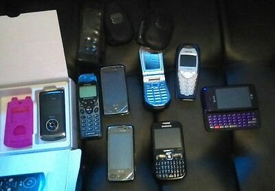 8 cell phone lot untested as is