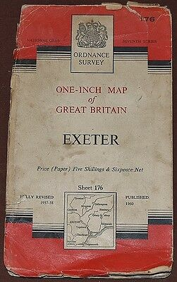 OS Map Exeter