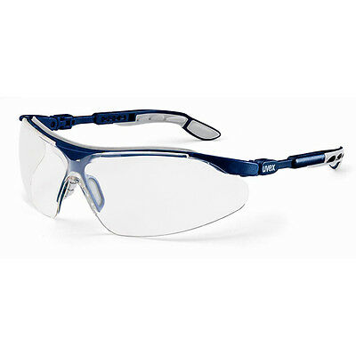 20 Pairs Uvex Safety Glasses Clear Lens