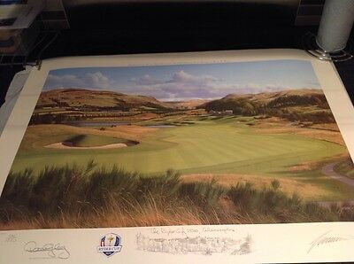 Ryder Cup Memorabilia 2014 - 2 Hole Gleneagles - Limited Edition