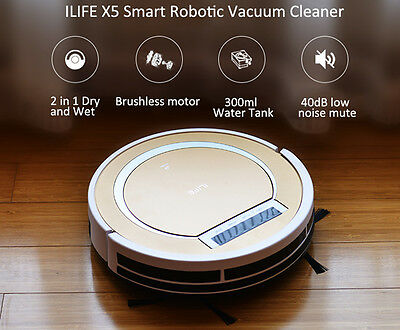Smart Robotic Vacuum Cleaner ILIFE X5 Home Robot Sweeper Virtual Wall
