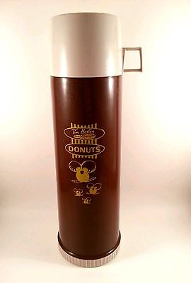 Vintage Tim Hortons Canada Timbit coffee Thermos ~ Great Condition