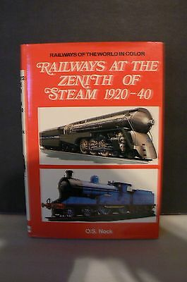 Railways At The Zeith Of Steam Railroad Book