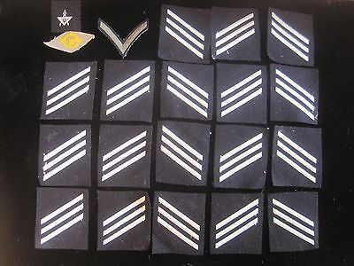Lot of 21 MILITARY patches Navy Air Force Marines Army old vintage WW2 OLD rare