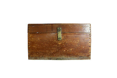 Old Artists Chest, Antique Chest, Portable, Solid Wood Box, Vintage Crafts