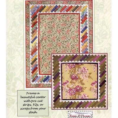 BRICK PATH QUILT QUILTING PATTERN, from Seams & Dreams, *NEW*