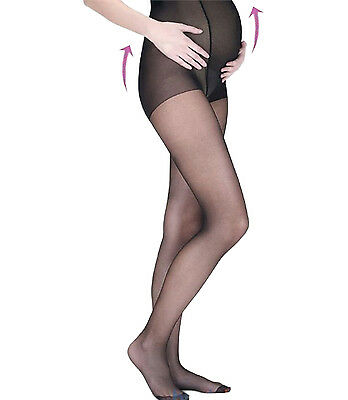 Italiana Transparent Fishnet Pantyhose 15 DEN Pregnancy Pantyhose Mama Tights
