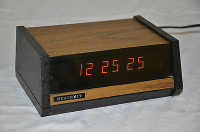 Vintage Heathkit GC-1005 Electronic Clock