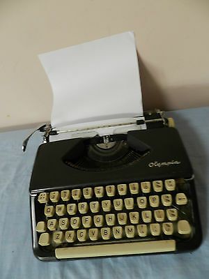 Typewriter Olympia Vintage Made In West Germany