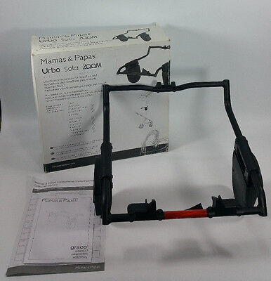 NEW Mamas & Papas Urbo Solo Baby Stroller Car Seat Carrier Adapter for Graco