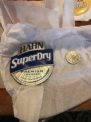 Hahn superdry Beer Tap Badge Decal New!