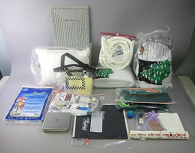 Huge Lot of Needlepoint Threads and Accessories: RG, Burmilana, Fluff, Board, ++