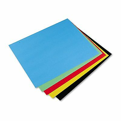 Pacon 54871 Peacock Four-Ply Railroad Board  22 x 28  Assorted  25/Carton