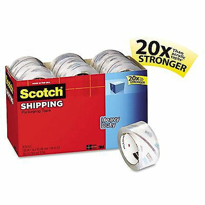 "Scotch 3850-18CP 3850 Heavy-Duty Packaging Tape Cabinet Pack  1.88"" x 54.6yds"