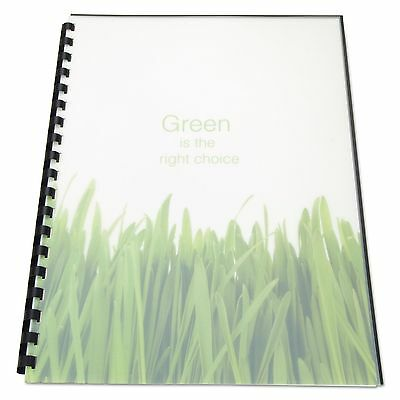 Swingline GBC 25817 100% Recycled Poly Binding Cover  11 x 8-1/2  Frost  25/Pack