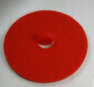 "Buffer Floor Pads 17"" RED MACHINE BUFFING FLOOR PADS - ETC of Henderson C1121"