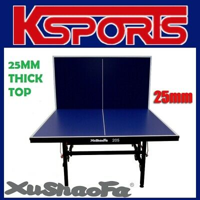 Xu Shao Fa 25mm Table Tennis Ping Pong Table - PRO SIZE & QUALITY - ITTF APPROVE