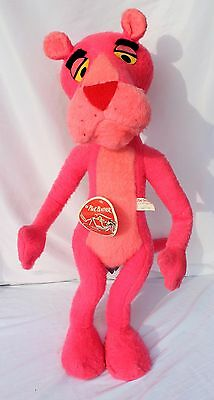 """Vintage PINK PANTHER 1964 / 1976  MIGHTY STAR Huge 32"""" Stuffed Plush"""