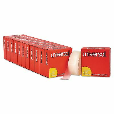 "Universal 83436VP Invisible Tape  3/4"" x 1296""  1"" Core  Clear  12/Pack"