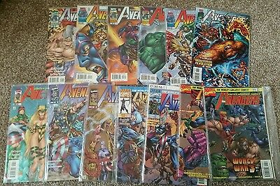 Avengers Series 2 issues 1-13 complete series Marvel Comics