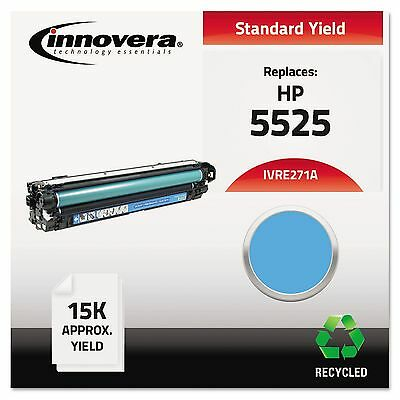 Innovera E271A Remanufactured CE271A (5525) Toner  15000 Page-Yield  Cyan