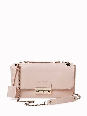 FURLA 7755360 Shoulder bag JULIA Color:magnolia Saffiano leather Pochette